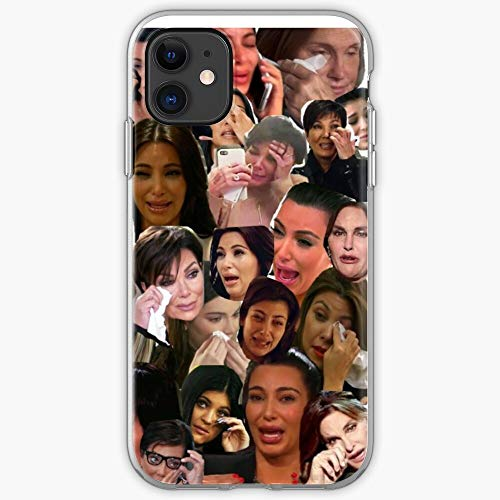 Caitlyn Kendall Trisha Jenner Kim Crying Tv Kris Famous Meme Funny Kylie Bruce Collage Paytas YouTube Khloe Kardashian K | Phone Case for iPhone 11, iPhone 11 Pro, iPhone XR, iPhone 7/8 / SE 2020