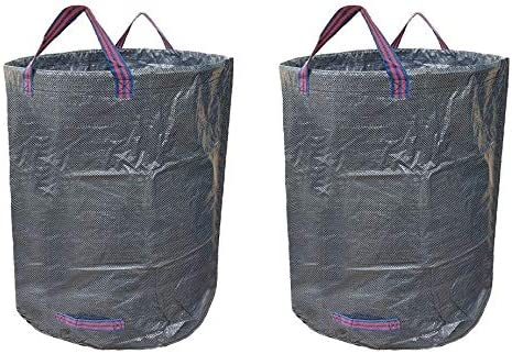 2PCS Gardening Garbage Luxury goods Bags Storage Leaves We OFFer at cheap prices Fallen Reusable