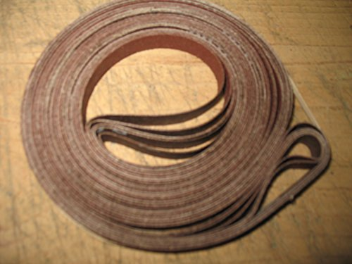Econaway Abrasives 1/2x80 Band Saw Belt Assortment (Fits Craftsman 12' Band Saw)