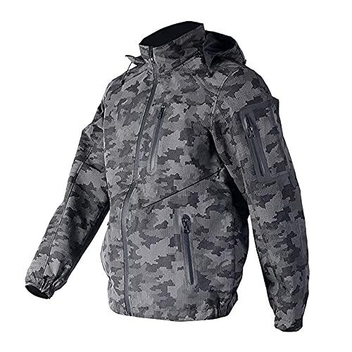 CYzpf Chaqueta de Moto Invierno Ropa Ligera y Transpirable Equipo Protección Impermeable Abrigo Informal Motorcycle Jackets Exteriores Accesorios para Hombres Mujeres,Clothes,L