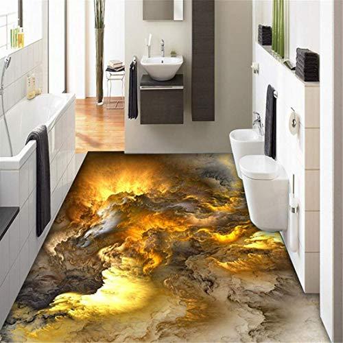 3d bodenbelag tapete moderne persönlichkeit abstrakt wolken 3d bodenfliesen schlafzimmer bad pvc selbstklebende wasserdichte 3 d mural, 250 * 175cm