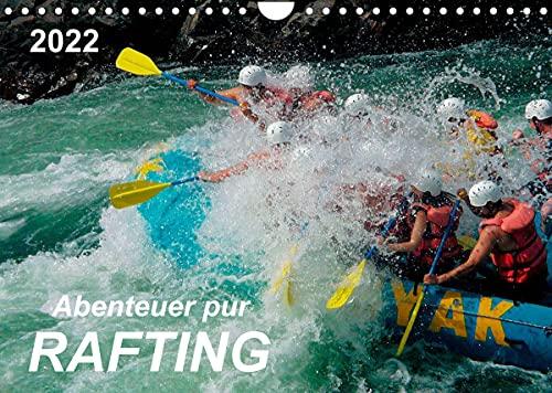 Abenteuer pur - Rafting (Wandkalender 2022 DIN A4 quer)