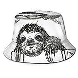 XCNGG Modelo estándar Lagrangian Unisex Summer Sun Bucket Hat Gorra de Playa