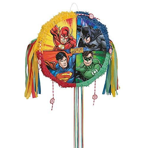 Justice League Pinata, Pull String