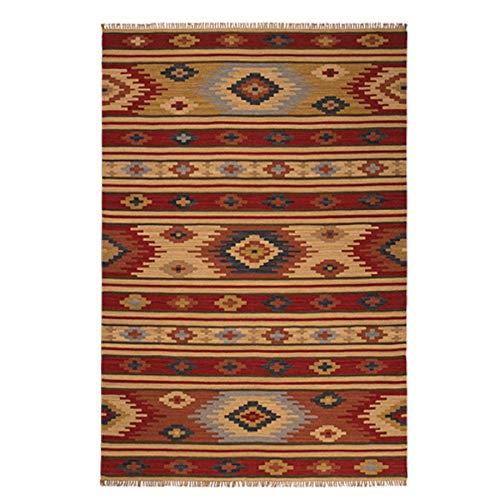 Taccuino in tessuto sari dimensioni medie di 120 mm x 165 mm Red