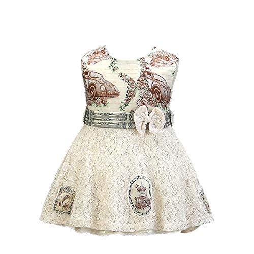 Mama stadt Kleider für Baby Mädchen Geburtstag Bowknot Hochzeit Prinzessin Spitzenkleid Festzug Taufkleid Partykleid/70