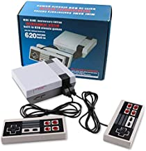 XJHANG Family Family Classic Game Mini Console - with 620 TV Video Games AV- OutClassic Game Mini Console - with 620 TV Vi...