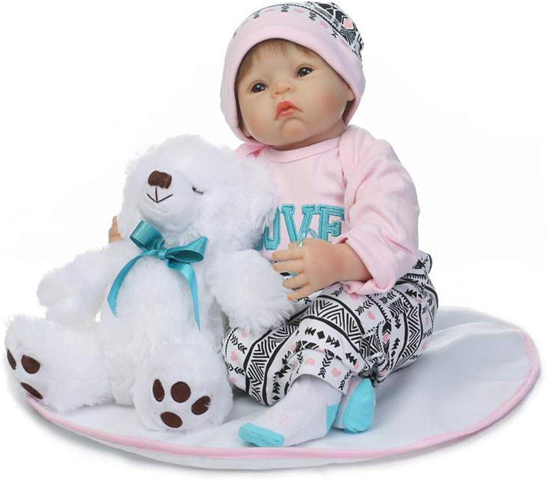 vendiendo bien en todo el mundo TONGTONG TONGTONG TONGTONG 50 cm Reborn Baby Girl Doll Bebé recién Nacido muñecas Realista de Vinilo de Silicona Baby Doll Regalos de cumpleaños  hasta 42% de descuento