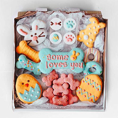 Wüfers Easter Cookie Box | Handmade Hand-Decorated Dog Treats