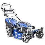 <span class='highlight'>Hyundai</span> <span class='highlight'>Self</span> Propelled ZERO-TURN 360 degree 51cm Cut <span class='highlight'>Petrol</span> Lawnmower, Electric Start, 196cc <span class='highlight'>Petrol</span> Lawn Mower - Includes 600ml Engine Oil, HYM510SPEZ, Blue