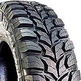 Crosswind M/T Mud-Terrain Radial Tire-33X12.50R20LT 114Q LRE 10-Ply