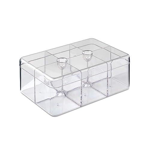 Transparente, Estireno-acrilonitrilo - Cajas para t/é San Rosti Mepal 106815053100 Caja para t/é Estireno-acrilonitrilo , Rect/ángulo, 148 mm, 217 mm, 85 mm San
