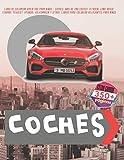 Libro de colorear divertido para niños - Coches. Más de 200 coches: Citroen, Land Rover, Ferrari, Peugeot, Hyundai, Volkswagen y otros. Libros para colorear relajantes para niños