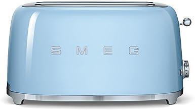 SMEG TSF02PBEU   Broodrooster 4 plakjes 50's Style   Kleur : pastelblauw