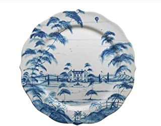 delft blue charger plates
