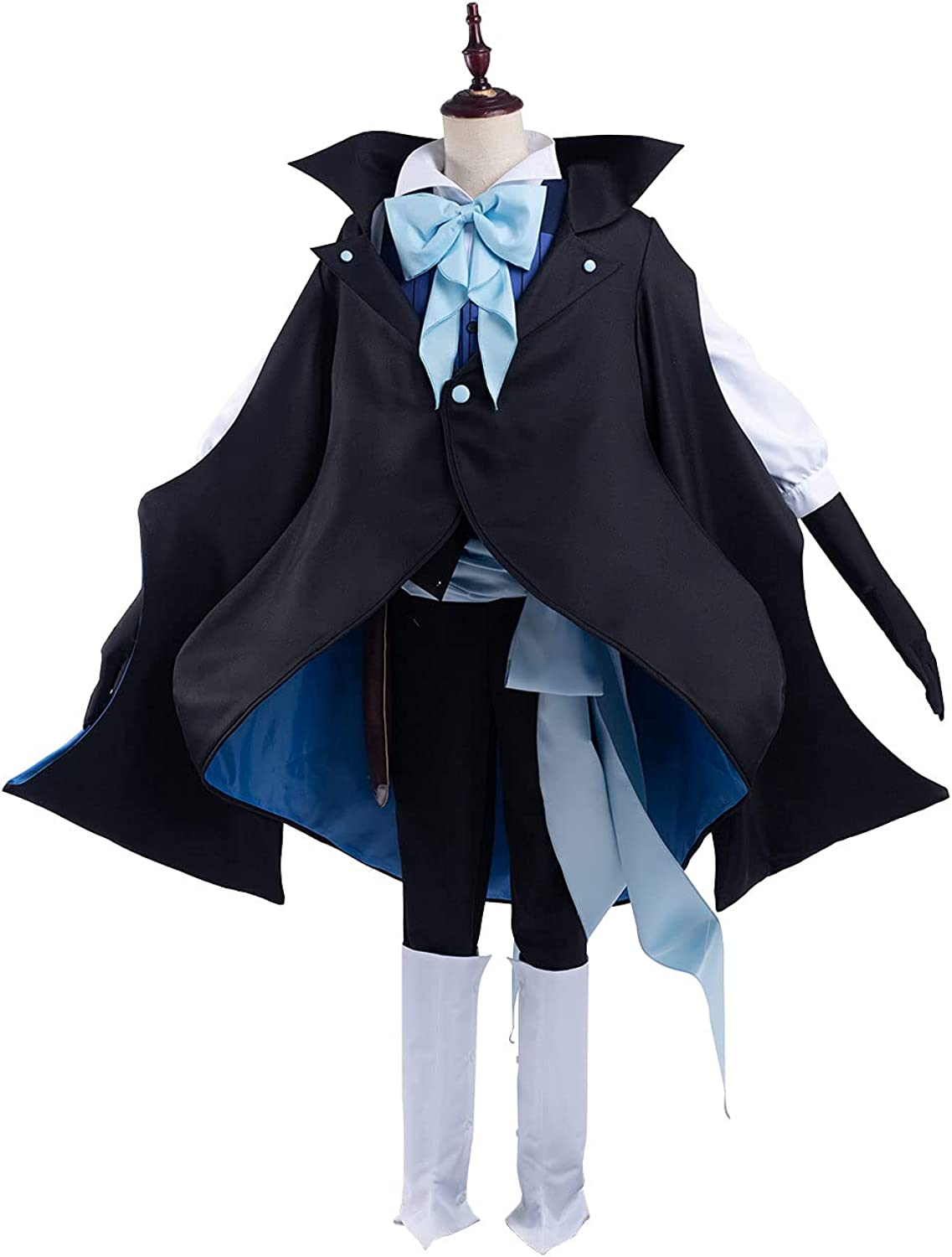 NGOVINY Unisex The Case Study Cosplay of Seattle Mall Costume Rare Outfits Vanitas