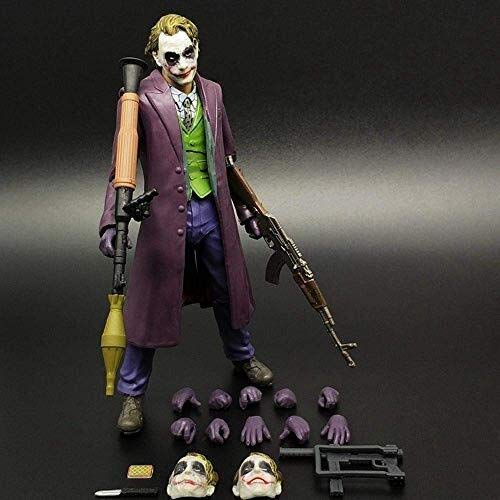 Xfwj Dawn Of Justice Joker Animated Character Model Kinderspeelgoed Jacker Clown Joint Beweegbare pop Model Anime Game Lovers Collection Model 2019 Winter Laatste