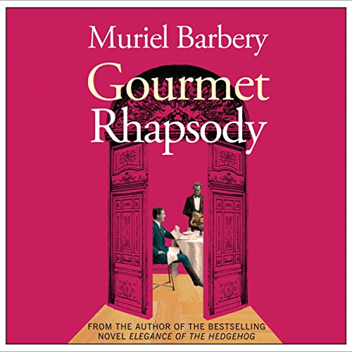 Gourmet Rhapsody audiobook cover art