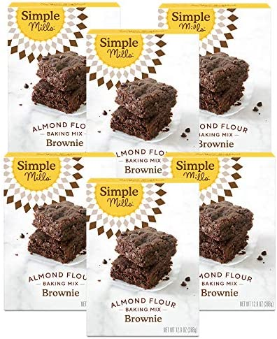 Simple Mills Almond Flour Baking Mix Gluten Free Brownie Mix Easy to make in Brownie Pan Chocolate product image