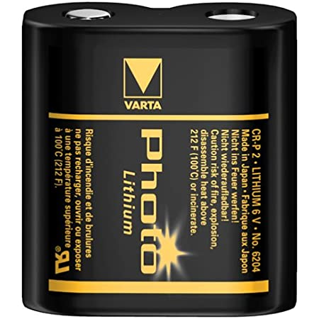 Varta T2 X1 706074 Photo Lithium Cr P2 Batterie Baumarkt