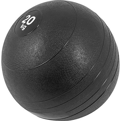 Gorilla Sports Palla medica in gomma, 3–20kg, 20 KG