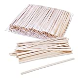 Birch Wood Coffee / Beverage Stirrers 7' (1000 pack) Eco-Friendly Great For Your Coffee Nook.