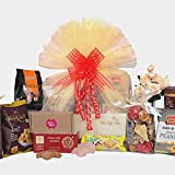 The Gift Tree Ultimate Indulgence and Fragnance Hamper | Candles, Cookies, Peanut Butter | Potpourri | Gift for Festivals, Birthday, Anniversary | Corporate & Personal Gifting