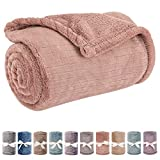 Baby Blanket or Pet Blanket, Comfy Soft Warm Blankets for Baby Girls and Boys, Dog and Cat, Plush Fleece Throw Blankets for Sofa, Couch, Travel and Camping (Streak 28