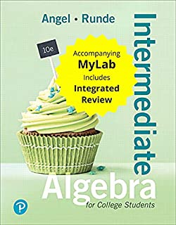 Intermediate Algebra for College Students with Integrated Review and Worksheets Plus Mylab Math with Pearson Etext -- 24 M...