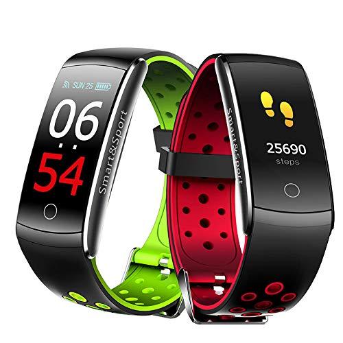 HONGDELI Q8S Pulsera Inteligente Monitor de Frecuencia Cardíaca Impermeable Fitness Tracker Bluetooth Watch Band Q8 Para Android IOS Mujeres Hombres Pulsera