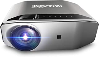 HD Home Projector 3800 Lumens, LED Portable Projectors for Home Theater Video, Support 1080P, dlna push, Mobile phone Mira...