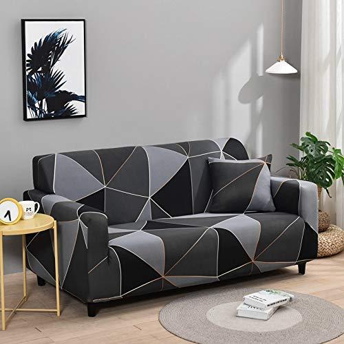 WXQY Sala de Estar Cubierta de sofá elástica con Todo Incluido Cubierta de sofá de celosía elástica Funda de sofá de sofá Inferior A20 1 Plaza