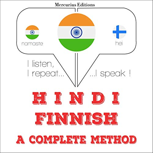 Hindi - Finnish. a complete method cover art