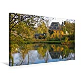 Premium Textil-Leinwand 75 x 50 cm Quer-Format Burg