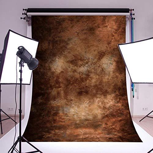 WENGE Fotografie Achtergrond Inklapbaar Polyester Katoen Bruin Scherm Chromakey Achtergrond Doek Voor Foto Studio Video 5x7FT Achtergrond