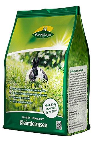 Quedlinburger 104998 Kleintierrasen 2,5 kg (Rasensamen)