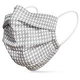 tanzmuster ® mascarilla de tela lavable por adultos - 100% algodón OEKO-TEX...