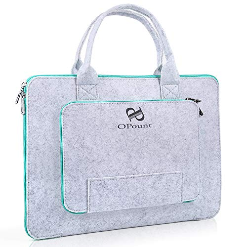 PP OPOUNT 14.6 x 10.6 inch Hand-held Shockproof Felt Bag for A4 Diamond Painting Light Pad Board Vinyl Weeding Light Box Storage