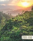 2022-2023 2 Jahre Planer: Terminplaner Buchkalender Wochenkalender Tagesplaner | 24 Monate Wochenplaner, Januar 2022 bis Dezember 2023 | Erstaunlicher Dschungel, Amazonas-Becken, Brasilien