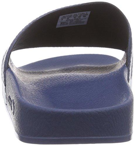adidas Adilette Ciabatte, Blu (Adiblue/White/Adiblue), 43 1/3 EU (9 UK), Unisex – Adulto