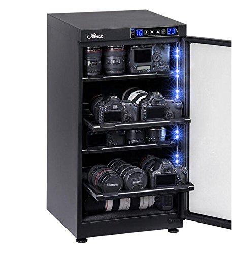 JIAN YA NA 100L LCD Digital Entfeuchten Trockenschrank Box für 2 Regal Kamera Objektiv Lagerung 220 V