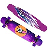San Qing Skateboard Professionale Longboard Freestyle da Ballo per Donna Cruiser Set Completo di...