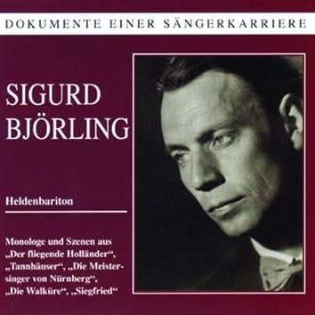 Dokumente einer Sängerkarriere - Sigurd Björling
