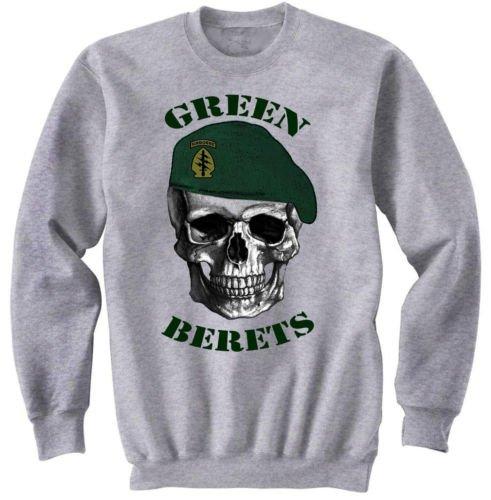 teesquare1st Estados Unidos Special Forces Green Berets 1de Graphic Sudadera S