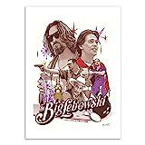 Wall Editions Art-Poster - The Big Lebowski - Joshua Budich