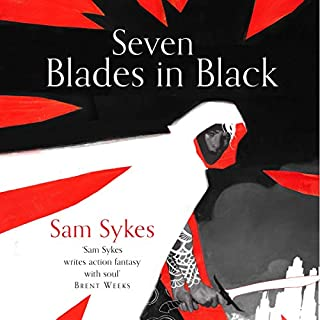 Seven Blades in Black cover art