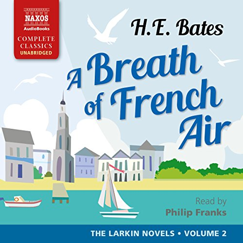 A Breath of French Air audiobook cover art