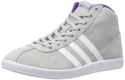 adidas adidas Hightop Sneaker Vlneo Court Mid W grau/weiß EU 38