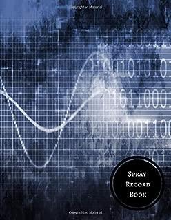 Spray Record Book: Chemical Application Log