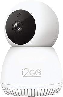 Câmera Inteligente Wi-Fi 360° FULL HD 1080p i2GO - I2GOTH742 Home, Branco